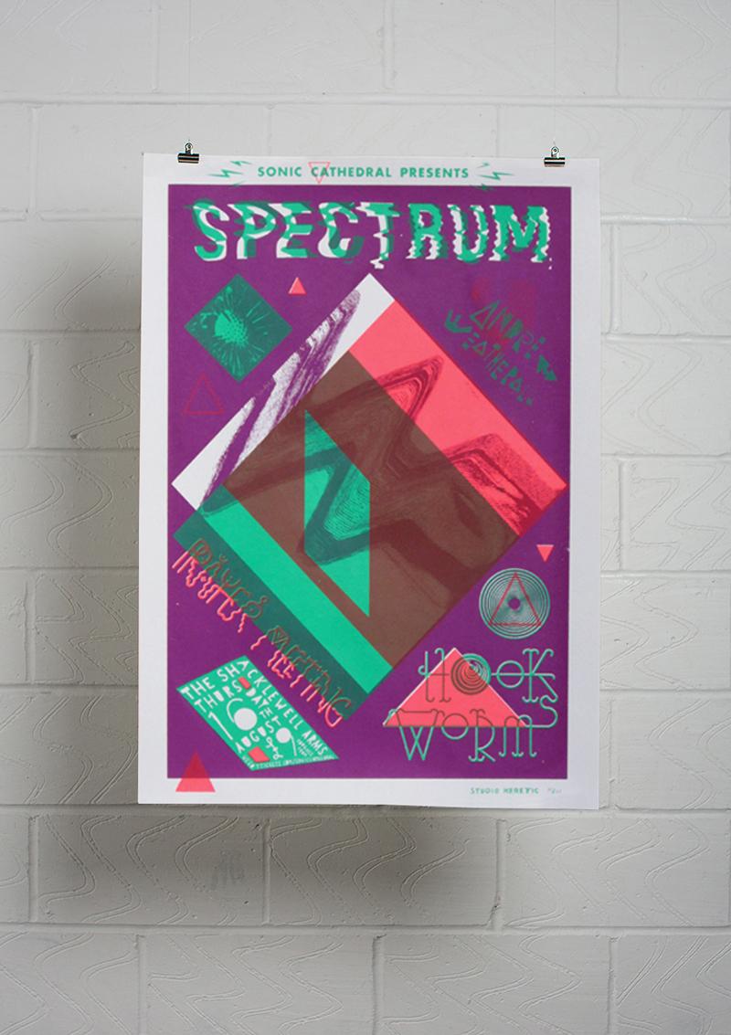 Spectrum / Hookworms / Prayer Meeting / Andrew Weatherall dj